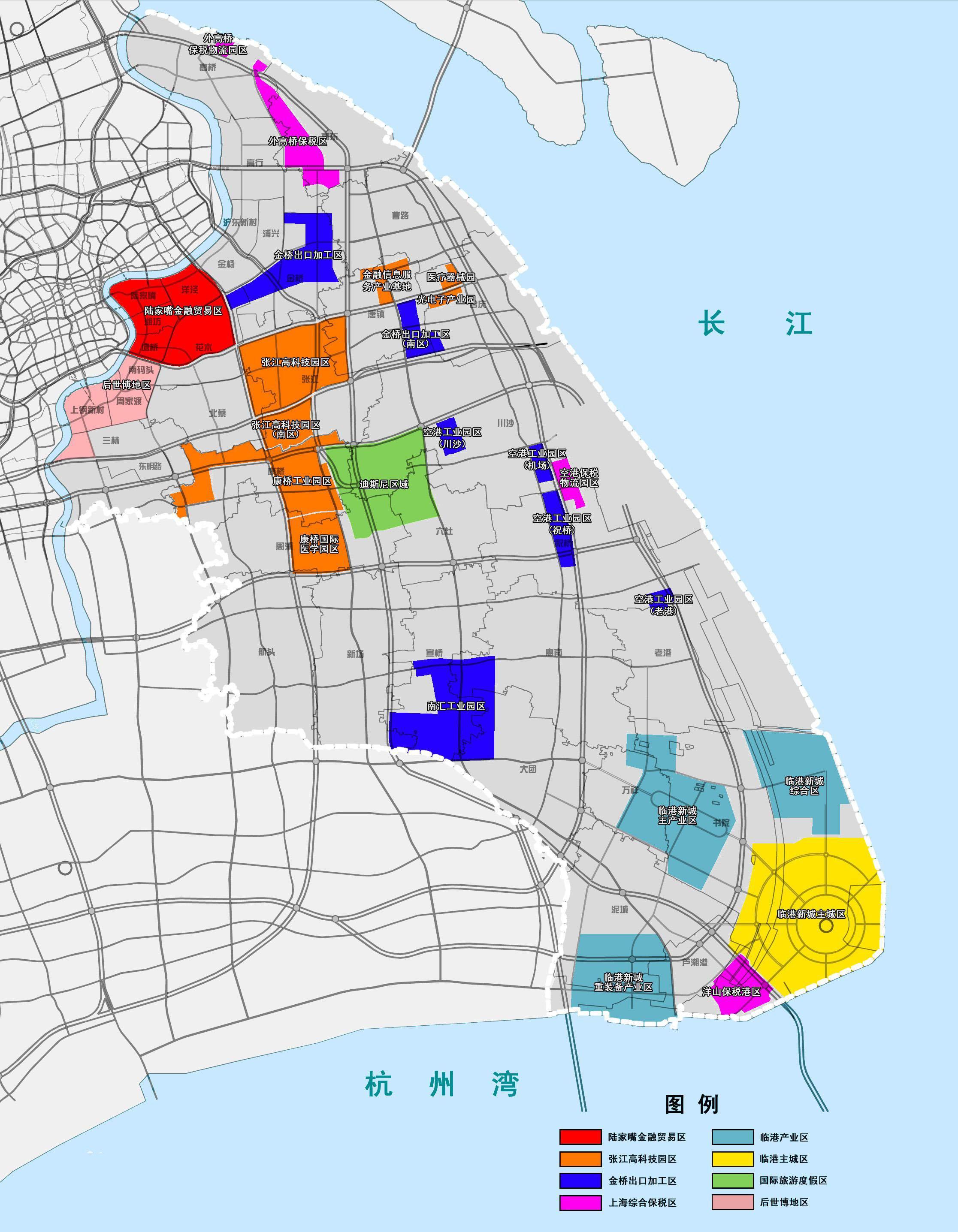 上海自贸区范围